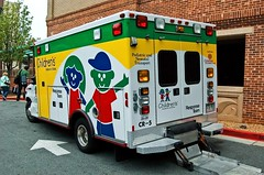 Children's Healtcare (Lil Wally) Tags: children child ambulance ems resuce unlimitedphotos pedatric