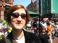 Jessica on Grafton Street