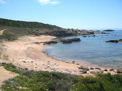 Une des nombreuses plages autour de Punta di Ventilegne