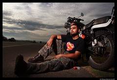 The Highway Man (Manas Saran) Tags: loosecanon manas canon bangalore junaid portrait cigarette biker motorcycle lightening535 royalenfield 1740l strobistcom activeassignmentweekly environmentalportrait vivitar 285hv offcameralighting smoke marlboro motorcycletouring bestofweek1 bestofweek2 bestofweek3 bestofweek4 bestofweek5 bestofweek6 bestofweek7 bestofweek8 bestofweek9 bestofweek10 canonef1740mmf4lusm wwwcovershotin covershotimages