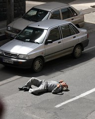 What do you think? (Dr. Hendi) Tags: people man color car day iran tehran sick epilepsy convulsion anoosh doctorhendii