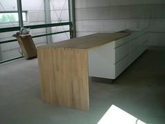Kvik houten werkblad