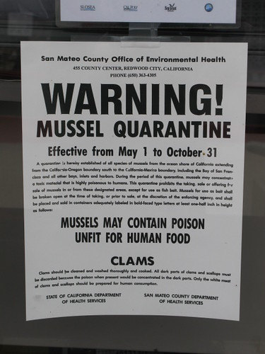 No mussels for you!