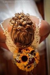 (Brii Dieter Photography) Tags: wedding hair cury updo ideas styles boquet white dress say yes art fine curly bride day farmhouse canon 70d rural