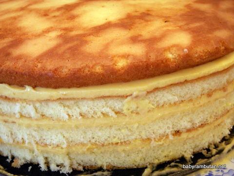 mango mousse cake redux