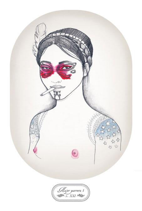 trival tatuaje mujer. mujer guerrera II. tattoo. tribal