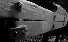 (Rhodri M) Tags: wood sea blackandwhite beach monochrome wales coast seaside rust aberystwyth groyne ceredigion cardiganbay sonyalpha rhodrimorris