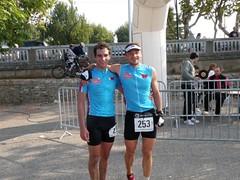 les vainqueurs : Baptiste Turrel et Fred Wurhmann