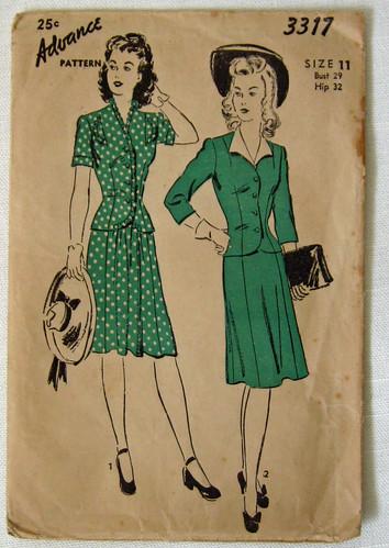 Vintage pattern for N