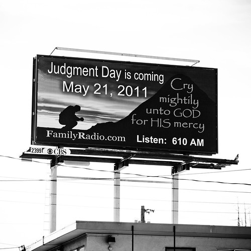 Judgment Day is Coming, May 21, 2011
