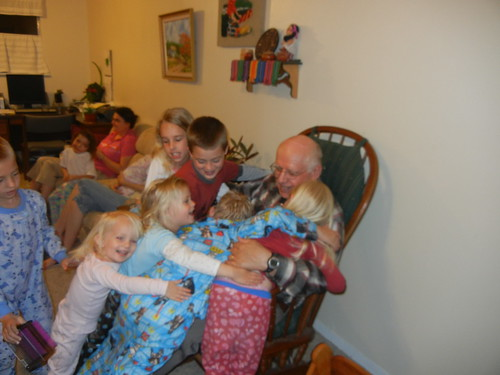 May 7 2011 grandkids and grandpa Bartholomew