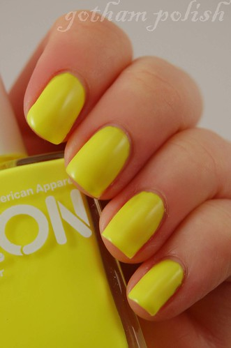 American Apparel Neon Yellow