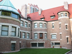 Glessner House, courtyard