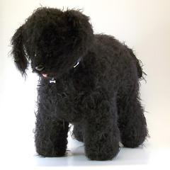 dog animal felted toy knitting knit stuffedanimal