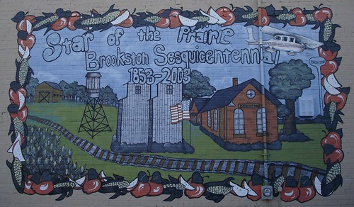 Brookston Mural