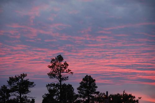 Reflejo del Gran Cañón en las nubes