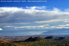 Catania's Gulf from Etna Vulcano - HDR