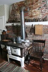 Kitchen (Black.Doll) Tags: illinois carmi 1814 nationalregisterofhistoricplaces whitecounty robinsonstewarthouse robinsonstewarthome