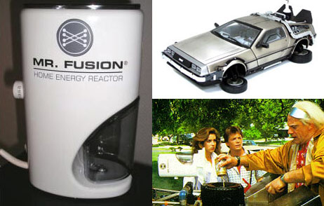 Mr Fusion from Back to the Future
