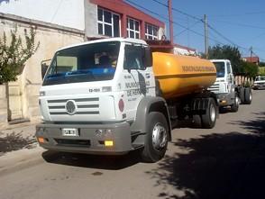 Camiones 0 km. presentados por la Municipalidad de Hernando