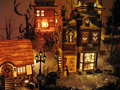 Dickens Village #1 (kevin dooley) Tags: christmas xmas favorite beautiful wow interesting fantastic flickr pretty village very good gorgeous awesome decoration award superior kitsch super best collection explore most winner stunning excellent much nightscene dickens incredible 18thcentury breathtaking exciting phenomenal studio56 25faves mywinners impressedbeauty