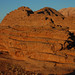 interesting rock formations at Wadi Rum