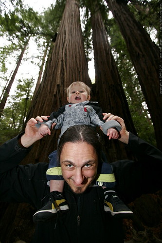 sean & sequoia under the heritage grove redwood trees - _MG_7973