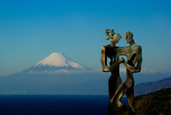 Lovers (takay) Tags: show sea cloud mountain japan landscape fuji lovers cape fujisan shizuoka soe  izu mtfuji beautifulscenery  blueribbonwinner littlestories   passionphotography goldenmix anawesomeshot ultimateshot superbmasterpiece diamondclassphotographer flickrdiamond takay ysplix excellentphotographerawards theunforgettablepictures thatsclassy photofaceoffwinner wonderfulworldmix betterthangood theperfectphotographer goldstaraward picswithsoul