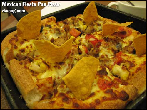mexican fiesta pan pizza