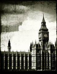 big ben (Andrew :-)) Tags: blackandwhite bw london texture bigben 10faves