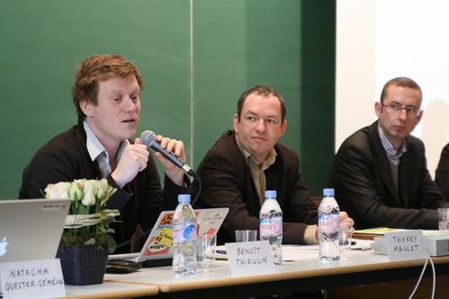 Journée Néthique 3, Vers une néthique des réseaux sociaux  ? : Benoît Thieulin, Christophe Grébert, Frédéric Chevalier