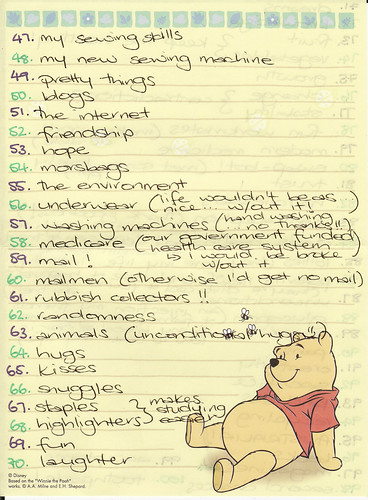 100 Things I'm Grateful for - Page 3