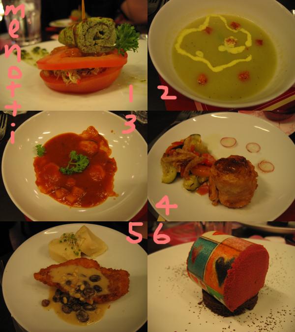 v day dinner