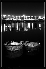 2boat   (m_yousefi) Tags: bw boat nightly iran   bushehr  2boat betterthangood