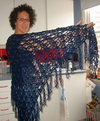 sweetpea-side (mason204) Tags: crochet sweetpea shawl stitchnbitch
