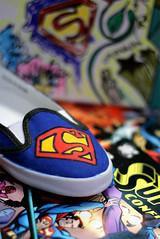 (S) Tags: blur colors comics cherry focus shoes comic kisses superman colored cherrykisses