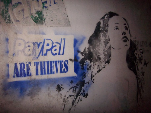 organization concerned credit card dispute bank stopped ebay paypal Paypal thieves