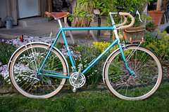 Rivendell Bleriot, 61cm (mike thomas) Tags: bike bicycle bicycles iphoto commuter bags fenders bleriot rivendell nitto carradice nigelsmythe