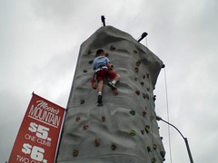 Thomas on rock wall (Joel Garry) Tags: rock wall thomas garry