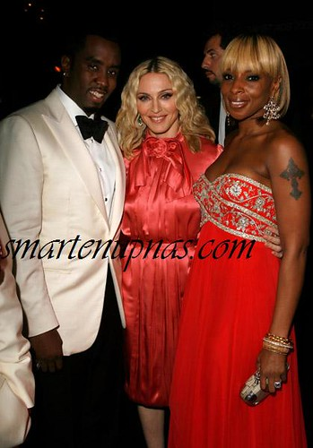 mary j blige puff daddy & madonna