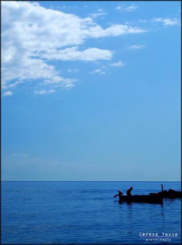 Ore che lente e inesorabili attraversano il silenzio del mio cielo