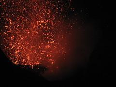 Stromboli eruption (Bsh) Tags: cool eruption vulcano stromboli