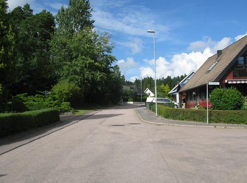 Enskiftegatan, Ytterby, 2012