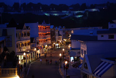 nightfall on mackinac island (suesue2) Tags: vacation island michigan mackinac lakeviewhotel suesue2 amazingmich suefraserphotography takenfromthe3rdfloorbalcony