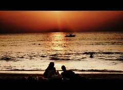 Love's Tranquil Moment (sweis78) Tags: sunset love beach lovers phuket tranquillity thaland
