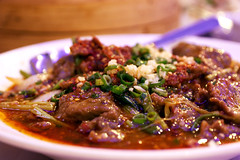 braised beef @ famous sichuan
