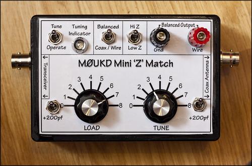 M0UKD Mini Z Match Antenna Tuner