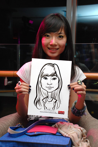 Caricature live sketching for TLC - 40