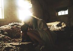 (yyellowbird) Tags: house selfportrait abandoned girl tiger stuffedanimal cari