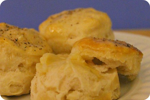 honey pepper biscuits